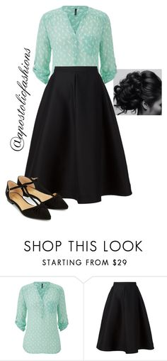 """Apostolic Fashions #1169"" by apostolicfashions ❤ liked on Polyvore featuring maurices, Vika Gazinskaya and Accessorize"
