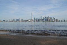 Toronto vanaf Toronto Island Toronto Island, New York Skyline, Travel, Viajes, Destinations, Traveling, Trips