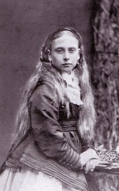 The Princess Beatrice, youngest child of Queen Victoria.