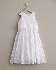 girls eyelet dream dress