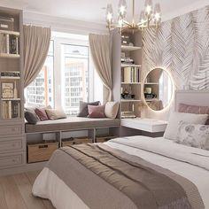 Room Design Bedroom, Room Ideas Bedroom, Small Room Bedroom, Home Room Design, Home Decor Bedroom, Teen Bedroom Designs, Bedroom Inspo, Bedroom Ideas For Small Rooms For Teens, Girls Bedroom