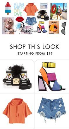 """""""Untitled #583"""" by taggedbykimmie15 on Polyvore featuring Victoria, Victoria Beckham, Furla, Kat Maconie, Boohoo and Lime Crime"""
