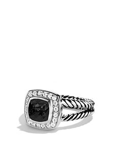 21904da726d6 Petite Albion Ring with Black Onyx   Diamonds. David Yurman   ...