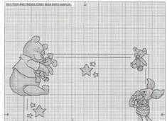 Just Cross Stitch Patterns | Learn craft is facilisimo.com  pooh birth chart 4