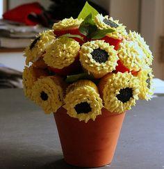 Sunflower Wedding Centerpieces   ... as Wedding Centerpieces   Budget Brides Guide : A Wedding Blog