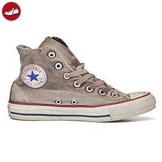 sneakerse converse all star hi ltd canvas grigio slavato (*Partner-Link)