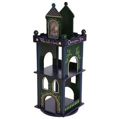 This is so cute!  I pinned this Castle Revolving Bookcase from the Family Storytime event at Joss and Main!