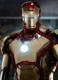 Iron Man by *MattiasFahlberg