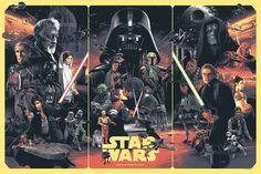 The Force Is Strong With Those Ones Ne cherchez plus, je pense qu'on vient de trouver l'affiche Star Wars ultime de ces 10 dernières années… Elle est signée Gabz, cet artiste Polo…