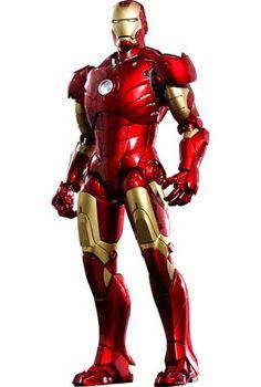 #IronMan Mark III Die-Cast 12-Inch Action Figure - Midtown Comics