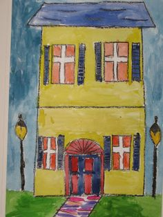 Lines, Dots, and Doodles: New Orleans Houses, 4th Grade