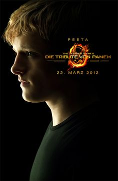 Peeta CHARACTER POSTER // Die Tribute von Panem - The Hunger Games