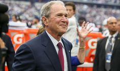 George W Bush crashes live shot during Rangers-Phillies game = Politics are all the rage these days. However, former president George W. Bush may be feeling left out and seemingly wants in on the action. During Wednesday's matchup between the Texas Rangers and.....