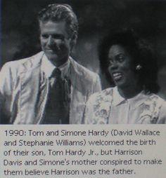 Tom & Simone Hardy, 1990