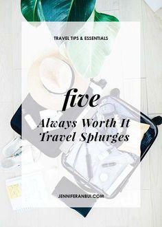 5 Completely Worth it Travel Splurges! #travel #europe #asia #traveltips