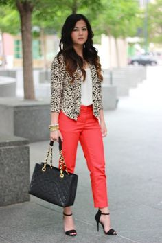 OMG I adore this outfit!! I NEED a leopard cardigan!! by Allthingsmodish