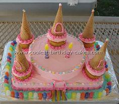 Coolest Homemade Disney Princess Castle Cake Photos