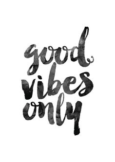 Good Vibes Only Printable poster by MotivationalThoughts on Etsy