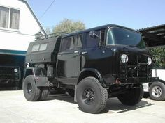 Willys FC150 - A double-cab, dually Jeep FC with a camper shell. [Expedition Portal]