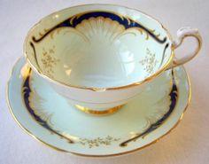 Paragon, Vintage Bone China Tea Cup and Saucer.