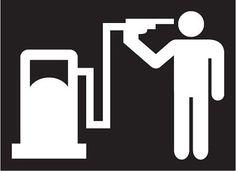 Tankstelle Selbstmord Zapfsäule Benzin Auto Laptop Aufkleber tuning jdm sticker freie Auswahl der Farbe und der Grösse kostenloser Versand!