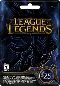 League of Legends Giveaway