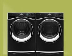 A laundry room to inspire you? Enter for a chance to win a Whirlpool washer & dryer in the You Be the Designer Sweepstakes.