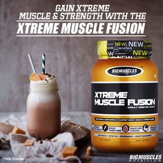 It is not hard to gain #muscle without a focused plan to drink #XtremeMuscleFusion. #BigMusclesNutrition Know more: bit.ly/BMXtremeMuscleFusion