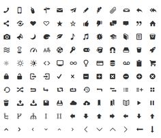 Using Entypo Pictographs as Icons in Your Qt Application Web Design Projects, Web Design Trends, Ui Design, Free Design, Face Icon, Font Face, Font Setting, Icon Font