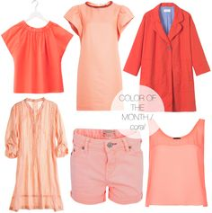 jojotastic | color of the month: coral