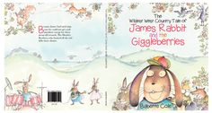 James Rabbit and the Giggleberries - NEW Book Cover!
