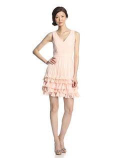 45% OFF Minuet Women's V-Neck Dress with Embellished Skirt