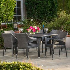 Duggin 7-Piece Patio Dining Set