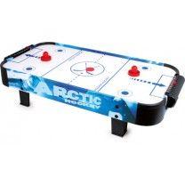 AIR-HOCKEY Das Spiel auf einen Tisch stellen und los geht´s! Die Spielscheibe gleitet durch hochgeblasene Luft leicht über das Feld. Ein schnelles und absolut aufregendes Spiel für zwei Personen. Dieses Spiel treibt den Puls hoch, lässt die Nerven flattern, die Hände fangen an zu schwitzen – kurz gesagt: ES IST DER ABSOLUTE WAHNSINN! ca. 108 x 52 x 24 cm