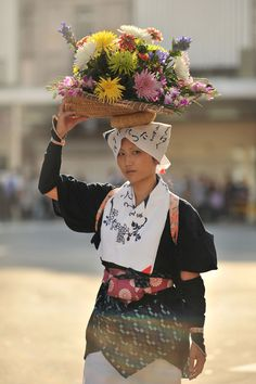 Shirakawame Flower Maiden at Kyoto Jidai Matsuri Festival, Japan 京都時代祭 白川女