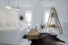 Un Apartamento en Blanco con Espíritu Vintage | Ideas Reformas Viviendas
