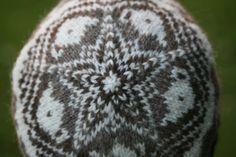 Tea Jenny colorwork hat by Kate Davies. Cute.