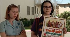 """""""Ghost World"""" (2001) """"Is this record any good?"""" - Enid"""