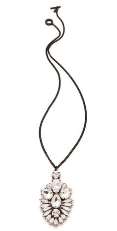 Special Offers Available Click Image Above: Noir Jewelry Nightfall Pendant Necklace
