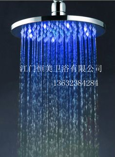 Aliexpress.com : Buy Led shower led shower lamp 8 circle copper top spray shower from Reliable Shower Head suppliers on AOUPU STORE
