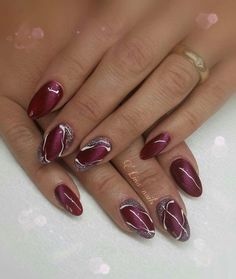 nails Curly Hair: Five Tips for Beautiful Tresses There are as many types of hair as there are peopl Classy Nail Designs, New Nail Designs, Colorful Nail Designs, Beautiful Nail Designs, Cute Nails, Pretty Nails, Multicolored Nails, Pink Gel Nails, Acrylic Nail Tips
