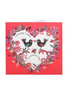 Couple Of Love Birds - One I Love Valentine's Day Card - Valentines Cards - Valentines | Clintons