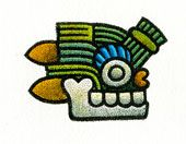 Aztec 12. GRASS  • Quality: Healing (herbs) • A day... for re-birth • Daysign Deity: Medicine God Patecatl • Body Association: Spinal cord • Direction: South • Influence: Good • Special: ---