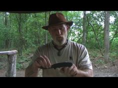 Basic Knife Handling and Bushcraft Notches Part 1 with Dave Canterbury...