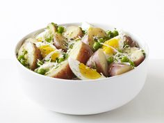 Food Network invites you to try this Potato-Egg Salad recipe from Food Network Kitchens.