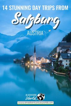 Are you searching for the best day trips from Salzburg? From the idyllic village of Hallstatt to the majestic Dachstein Ice Caves, these are my top picks! Europe Travel Guide, Travel Destinations, Budget Travel, Traveling Europe, Travel Hacks, Travel Packing, Holiday Destinations, Travel Guides, Travelling