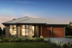 Explore over 60 modern home designs & house plans from Rawson Homes. Our home builders service throughout Sydney, Regional NSW, Newcastle & ACT. Modern House Facades, Modern House Design, Rawson Homes, Rendered Houses, Home Design 2017, Modern Bungalow, Hip Roof, Facade House, Home Builders