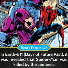 Spider-Man killed by Sentinels facts #Marvel #marvelcomics #marveluniverse #marvelstudios #marvelcinematicuniverse #MarvelLegends #marvelshots #marvelcosplay #marvelous #Marvelmovies #marvelart #marvelmemes #Marvelfan #MarvelComic #marvellous #marvelnation #marvelheroes #marvels #marvelfacts #marvelvsdc #marvelfans #MarvelMovie #MarvelandDC #marvelentertainment #MarvelNow #marveledit #marveloushawaii #marvell #marvelnerd #marvelfanart Marvel Funny, Marvel Memes, Marvel Dc Comics, Comics Universe, Marvel Cinematic Universe, Superhero Facts, Marvel Facts, Marvel Fan Art, Marvel Cosplay