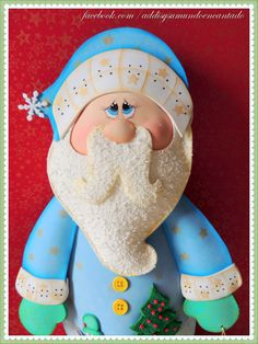 Papá Noel de azul. https://www.facebook.com/media/set/?set=a.230754687091352.1073741835.104825986350890&type=3