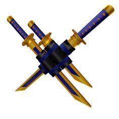 Golden Deluxe Sword Pack - ROBLOX